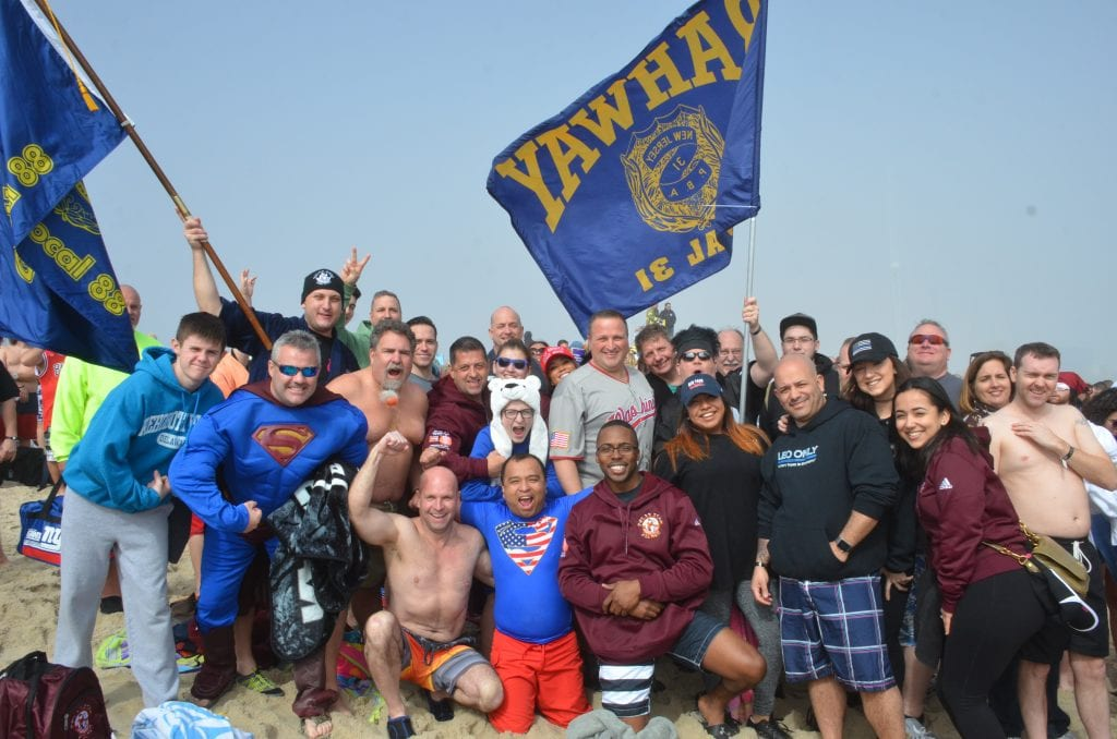 Rahway Local 31 has participated in every Polar Bear Plunge since the event began in 1993 and celebrated its 27th plunge in 2020 with a team of 35 people.